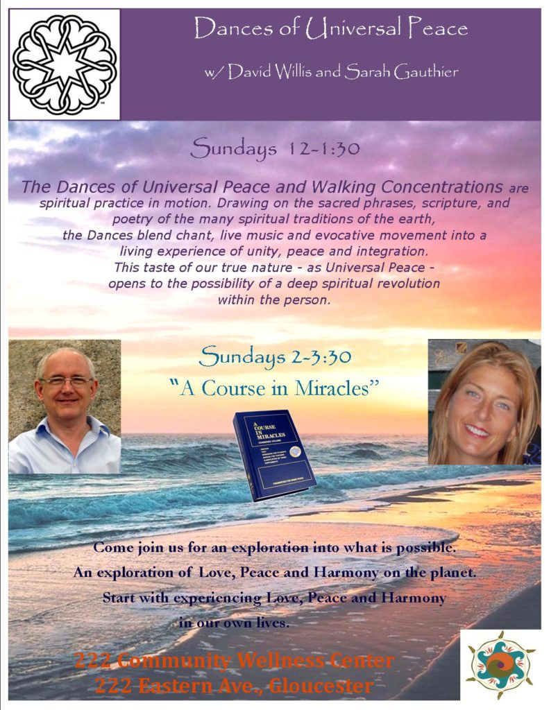 """A Course in Miracles"" with David Willis and Sarah Gauthier"